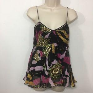 Diane Von Furstenberg embellished Silk camisole 6